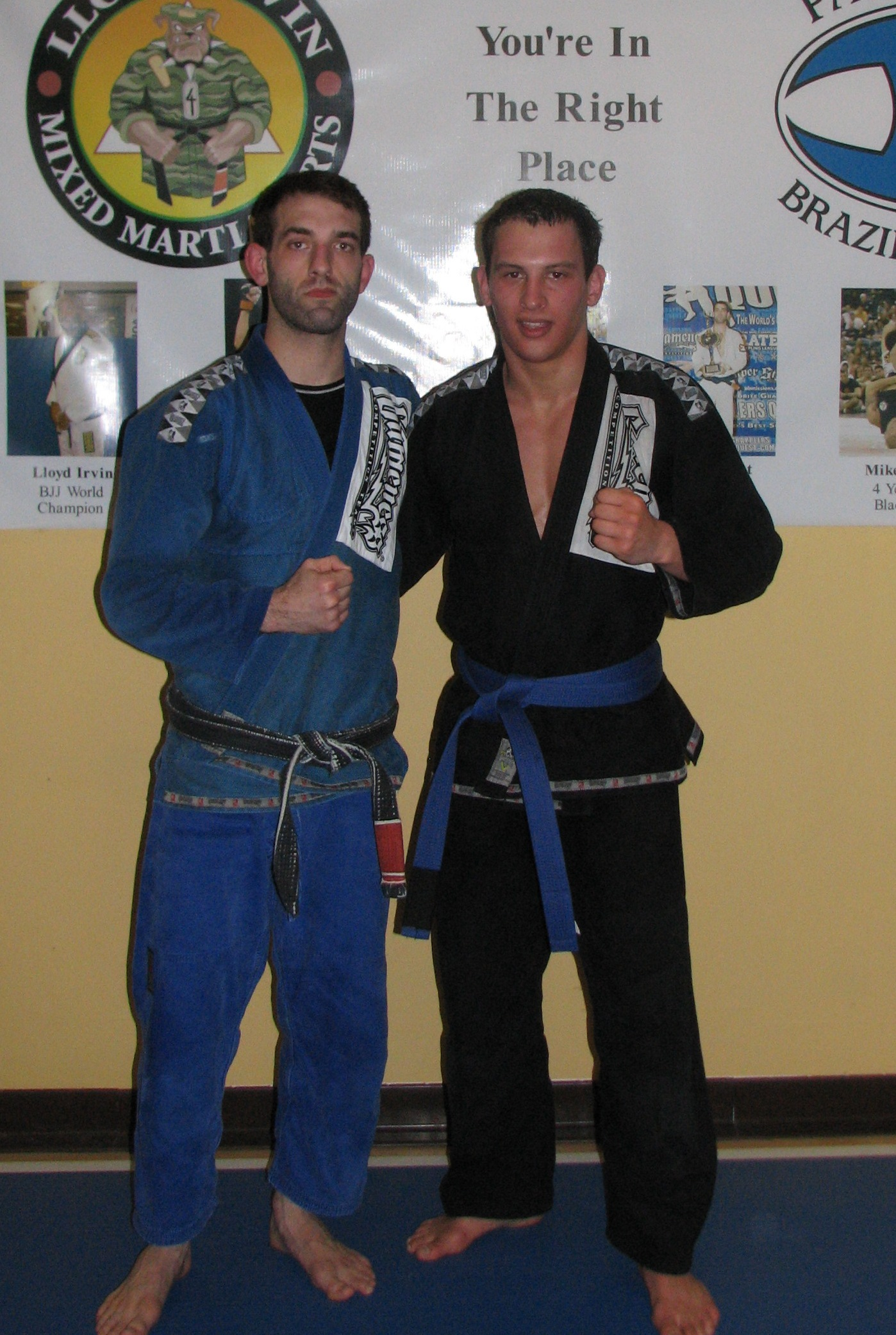 Mike Thomas Promoted to BJJ Blue Belt - Team Paramount Live